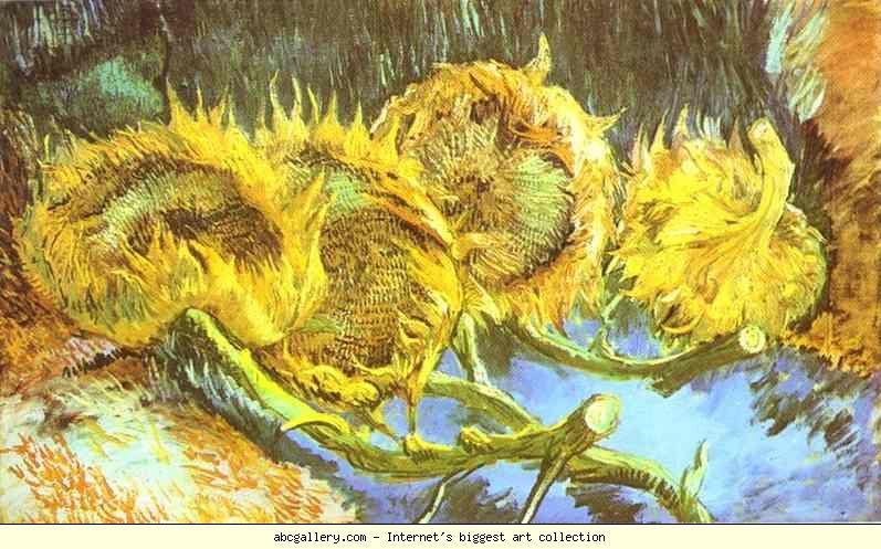 « أحذيةٌ وأزهارُ عبّاد شمس…» قراءة سيميولوجية لست أعمال للفنان :ڤان غوغ  Van Gogh.