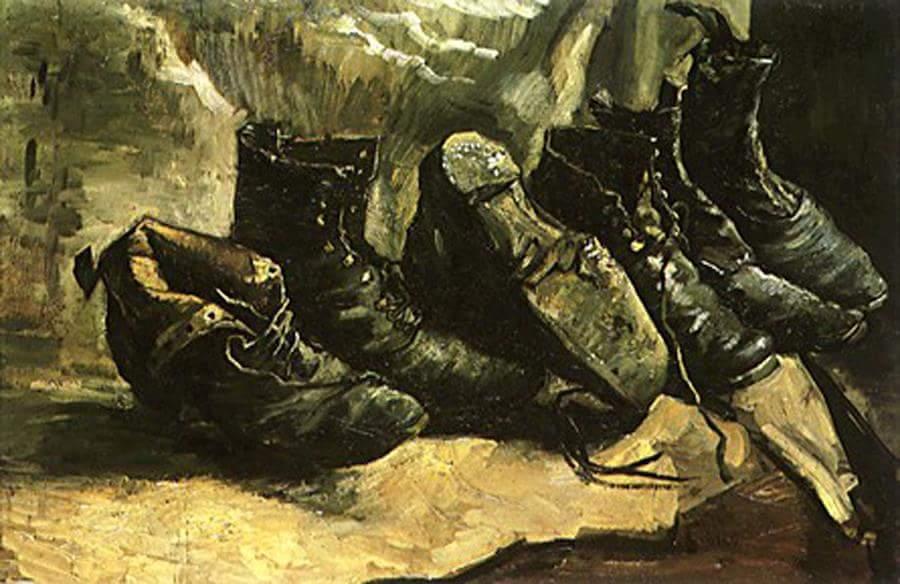 الجزء الثاني : « أحذيةٌ وأزهارُ عبّاد شمس…» قراءة سيميولوجية لست أعمال للفنان :ڤان غوغ  Van Gogh.