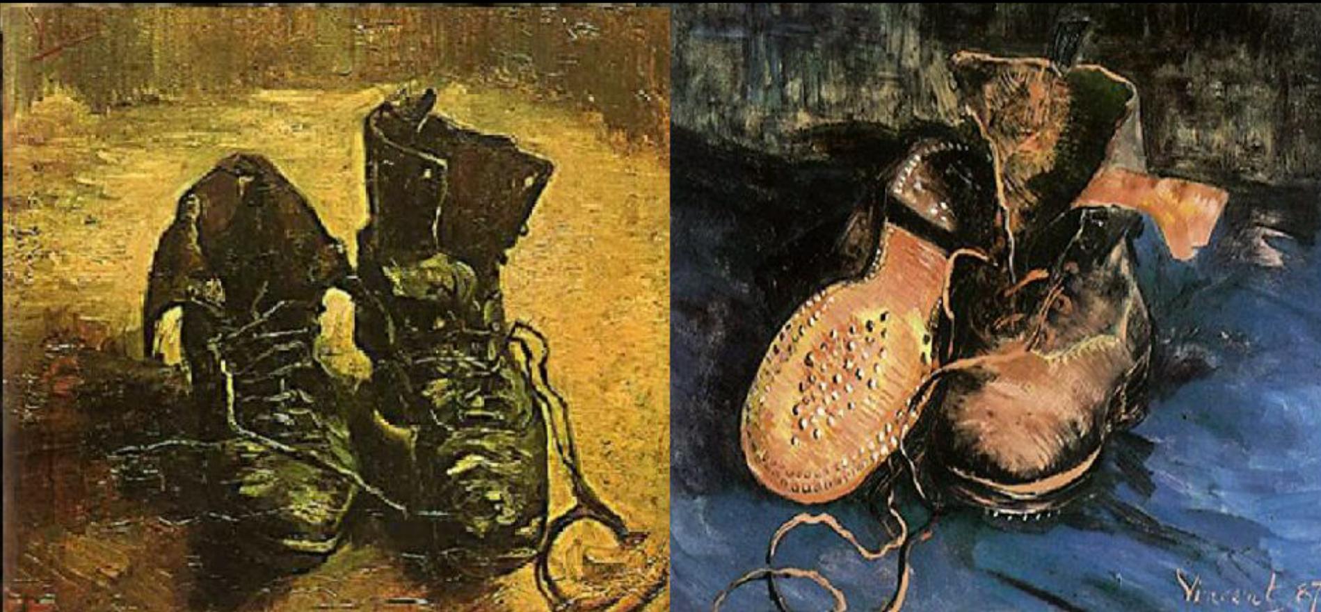 الجزء الثالث و الأخير : « أحذيةٌ وأزهارُ عبّاد شمس…» قراءة سيميولوجية لست أعمال للفنان :ڤان غوغ  Van Gogh.