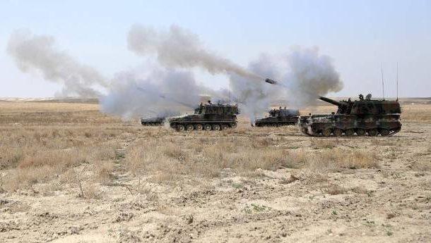 المدفعية التركية مستمرة بقصفها لمواقع القوى المنضوية تحت سقف قوات سوريا الديمقراطية