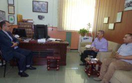 ممثل الـ PYD في باشور كردستان يزور موقع الاتحاد الوطني الكردستاني  PUKmedia