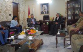 الـ PYD في باشور كردستان تستقبل وفداً من حزب الديمقراطي الكردستاني – إيران PDKI