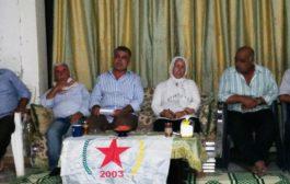 الـ PYD يعقد سلسلة اجتماعات في عفرين