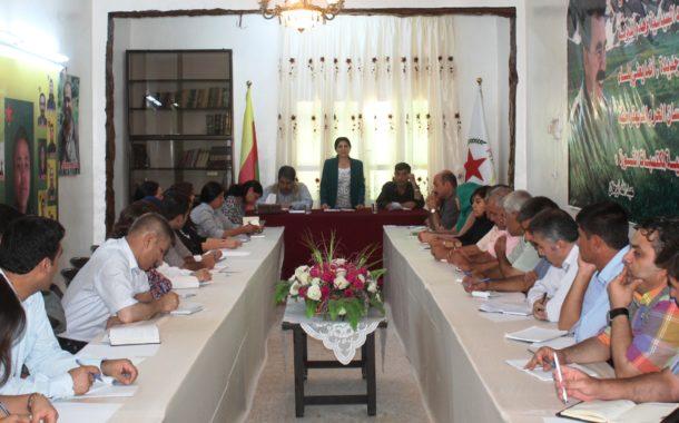 بيان إلى الرأي العام بخصوص الاحتلال التركي لمدينة جرابلس  ومجزرة قرية بئر الكوسا