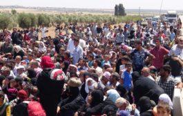 عفرين – حركة النزوح لم تنقطع منذ بدأ الصراع في سوريا
