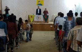 الـ PYD في سيد صادق تحتفل بذكرى الـثالثة عشر لتأسيه