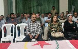 الـ PYD يعقد اجتماعاً لأعضائه في عفرين