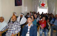 مكتب العلاقات الدبلوماسية في الـ PYD تعقد ندوة حوارية في عفرين