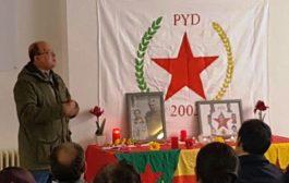 استذكار الـ PYD للشهيد عثمان – أوصمان دادالي في ألمانيا