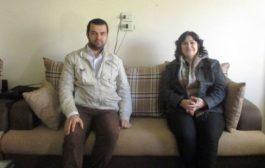 المرأة في الـ PYD في زيارةٍ إلى مقر الحزب الديمقراطي الكردي السوري