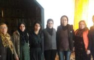 لجنة علاقات المرأة في الـ PYD يهنئ نساء مؤسسة عوائل الشهداء في 8 آذار