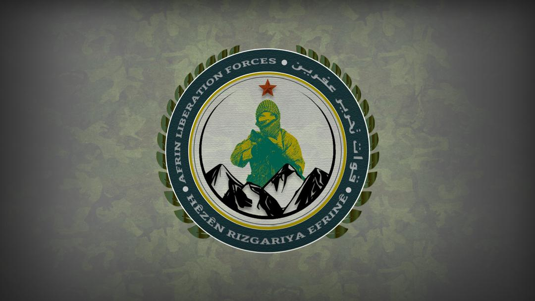 Photo of Afrin Liberation Forces targeted MIT