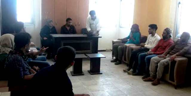 PYD holds meeting in al-Shadadi district