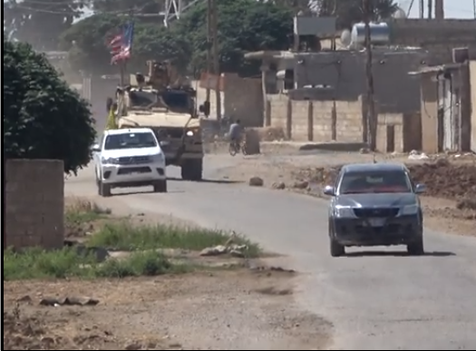 Photo of Joint Patrols in Serekaniye by U.S. Army& Local Military Council