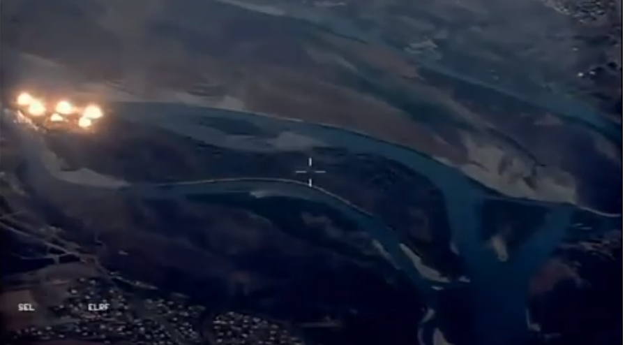 Photo of US Bombs ISIS-'Infested Island' in Iraq