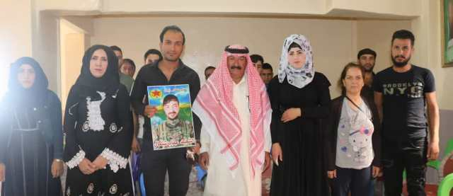 Photo of PYD Concluded Martyr Oqab Shingal's Course in Tel Koçer