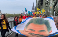 March for Leader Öcalan in Bonn
