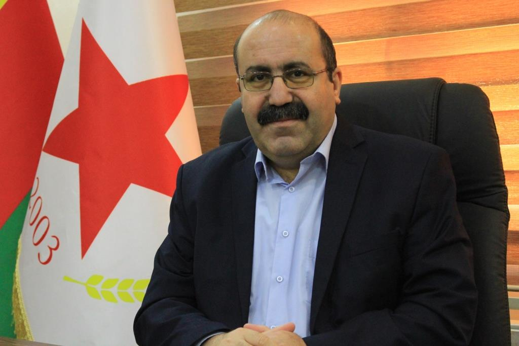 Photo of Hassan: Liberation of Afrin is our Utmost Priorityat 8th Conference