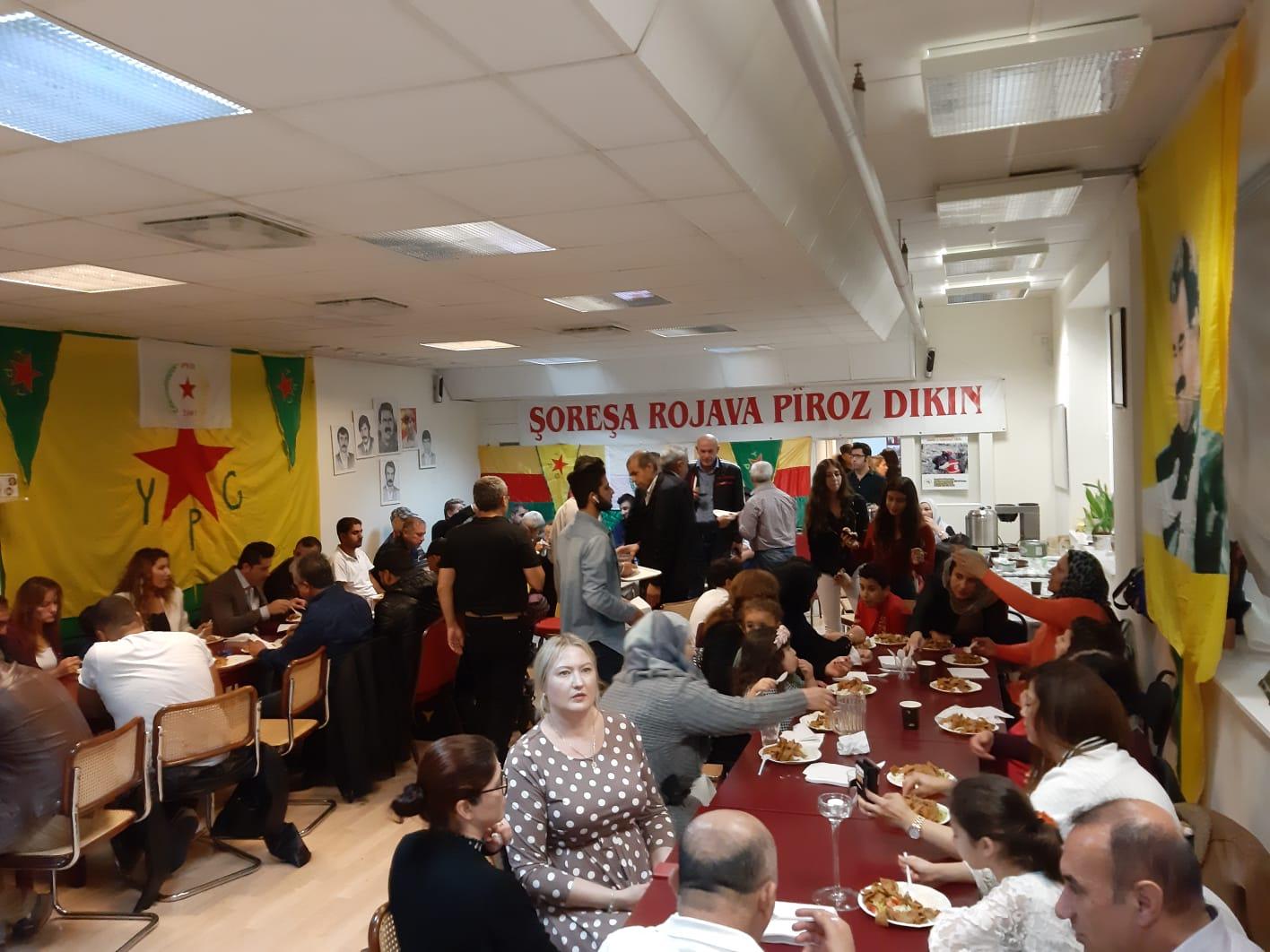 Photo of Kurdish People Celebrate the 16th Anniversary of PYD's Foundation