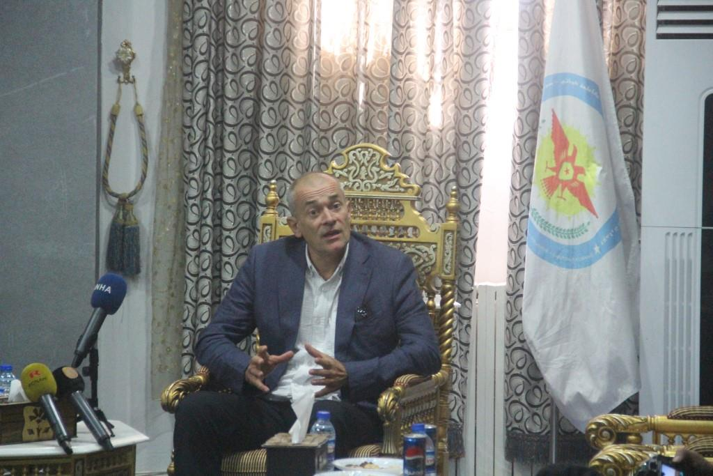 British Delegation: Development, Progress Achieved in Rojava are Great