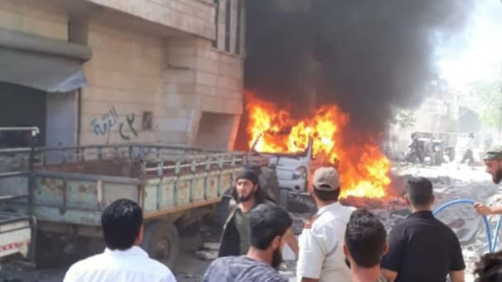 Photo of Explosion in Afrin