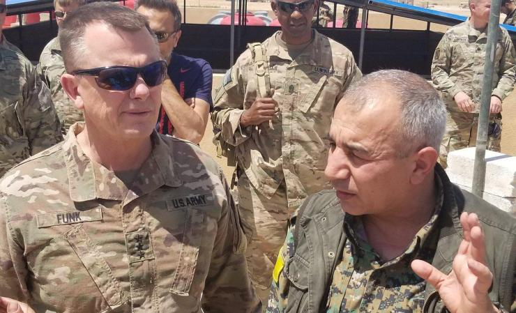 Photo of CJTF–OIR :SDF Play Prominent Role in Stabilizing