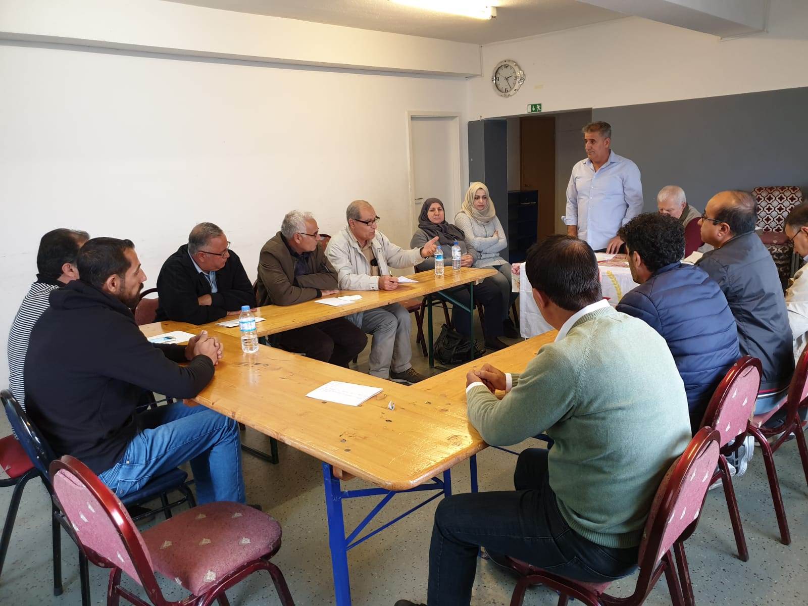 Photo of PYD Continues to Hold its Organizational Meetings in German Cities