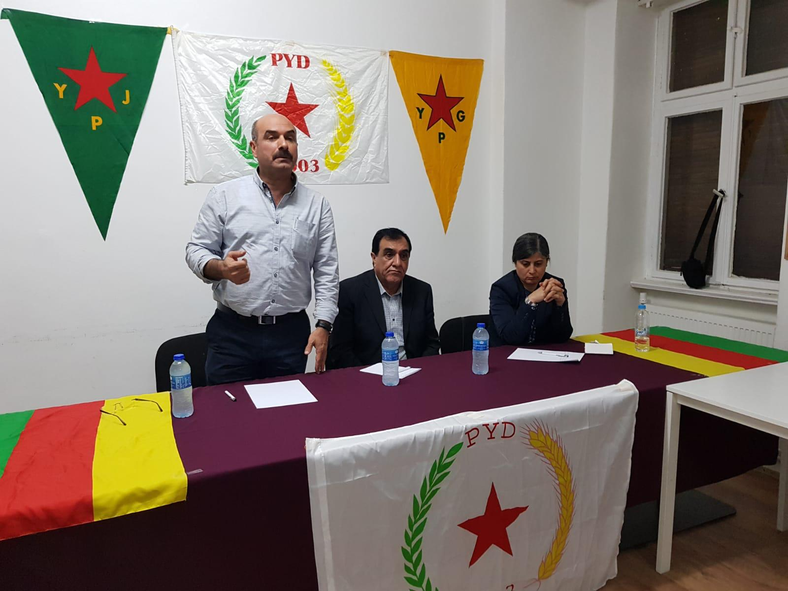 Photo of PYD in Berlin Holds its Regular Meeting
