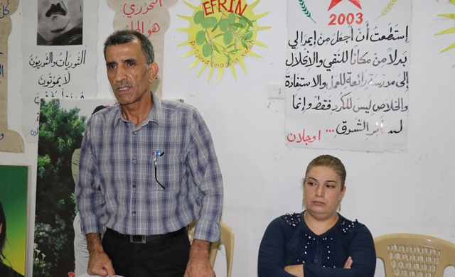 Photo of PYD Organization in Aleppo Held Meeting for its Members