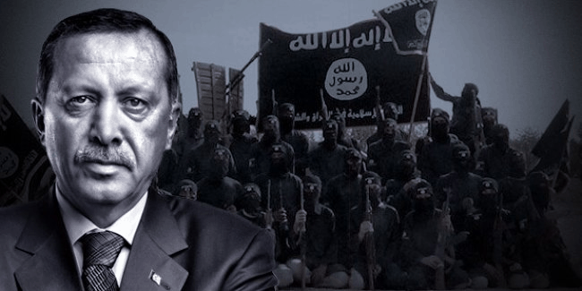 """Photo of New York Post :""""Why isn't the media covering Turkish President Erdogan's ties to ISIS"""""""