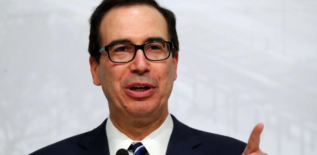 """Photo of Mnuchin:""""The United States is Considering Placing Sanctions on Turkey """""""