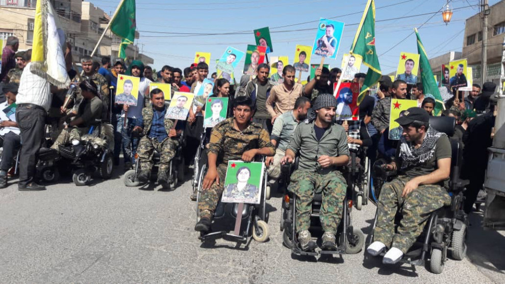 Photo of Veterans Protested Against Turkish State's Threats