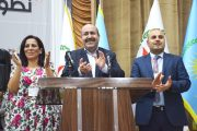 Anwar Muslim and Aisha head the Democratic Union Party (PYD)