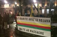 Activists in Nancy protest Turkish invasion of Rojava