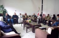The party's office in the Euphrates region receives a delegation of Notables of Arab clans