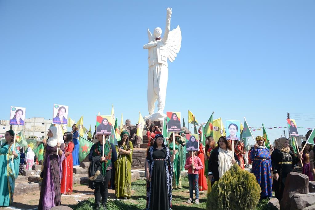 Photo of In Rojava, women celebrate International Women's Day