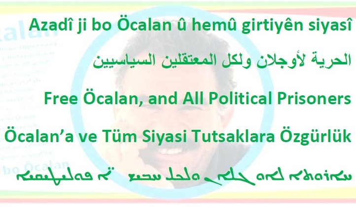 "Photo of Our party youth launches a campaign on social media with the slogan of ""Freedom for the Leader of Peoples Ocalan"", on the occasion of his birthday"
