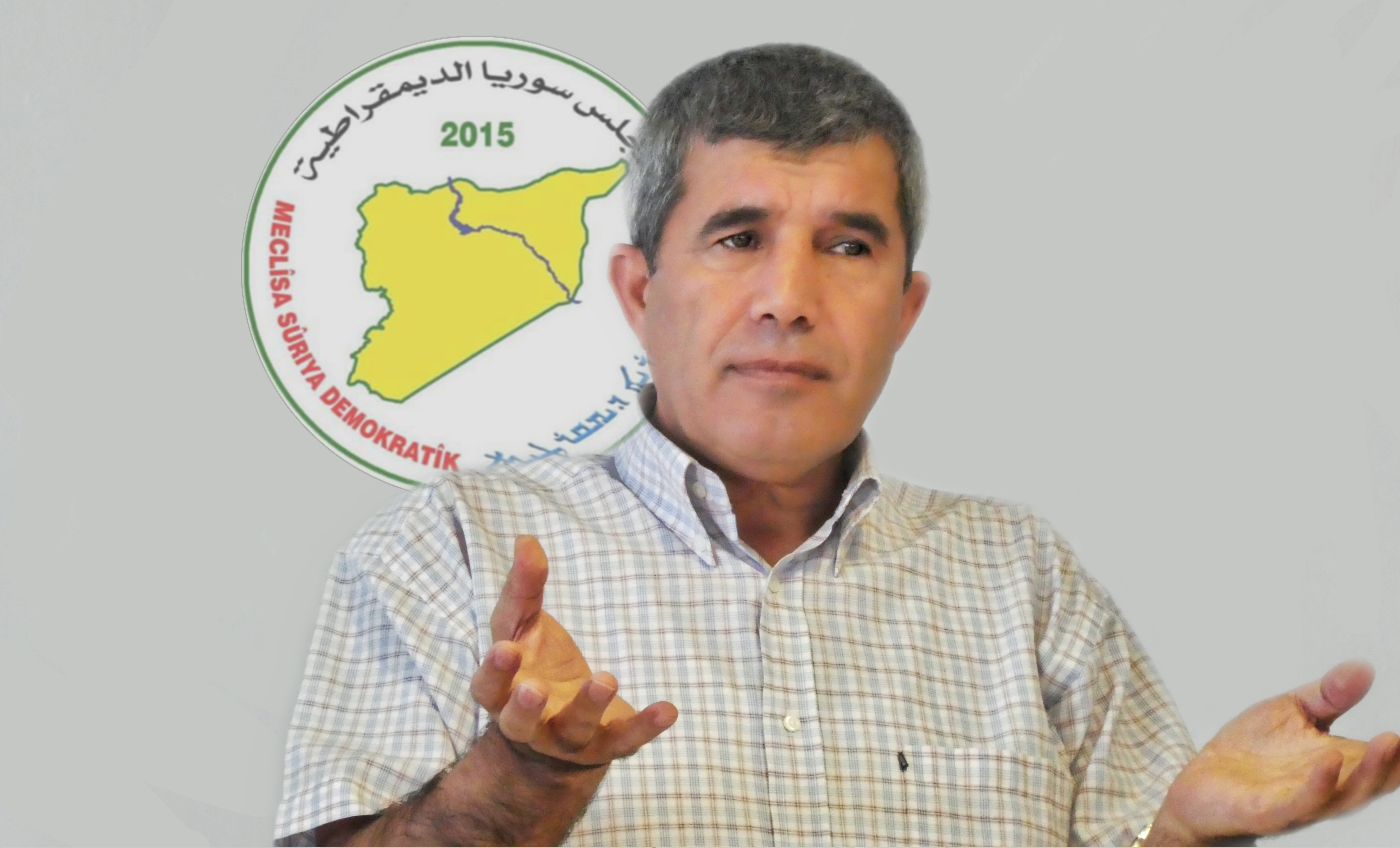 Photo of Hassan Ali: There is no solution in Syria without participating SDC