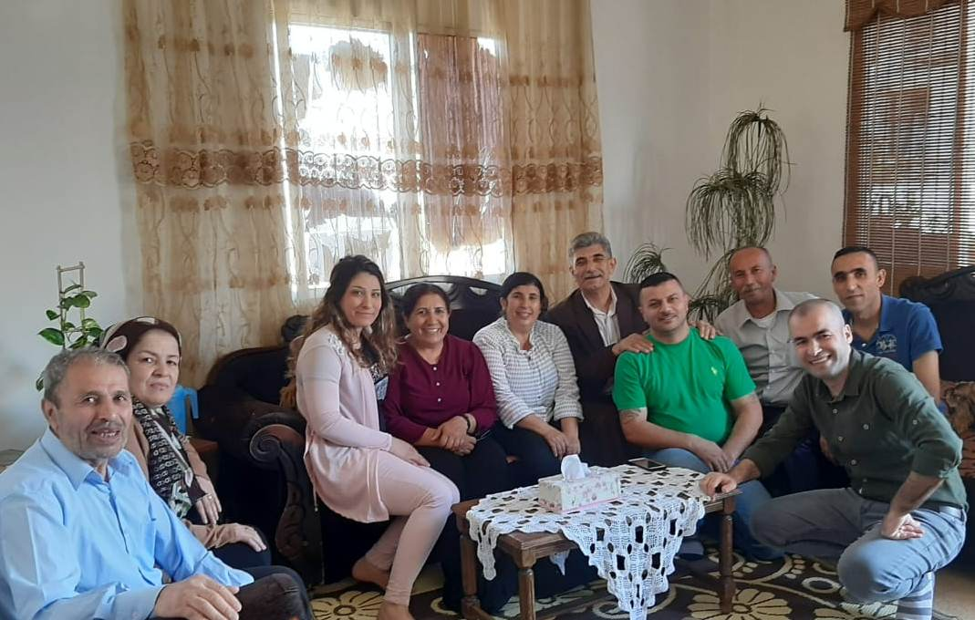 Photo of Delegation of Kongra Star, PYD visits martyrs' families in Lebanon