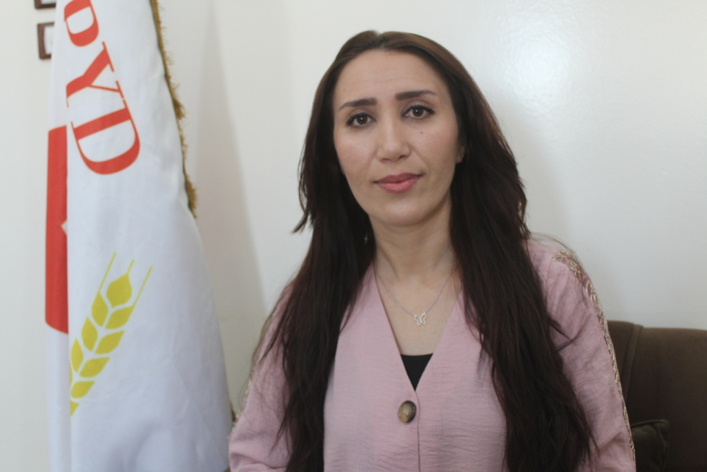 Photo of Hassan: Women have to do more efforts to success Kurdish rank unity initiative