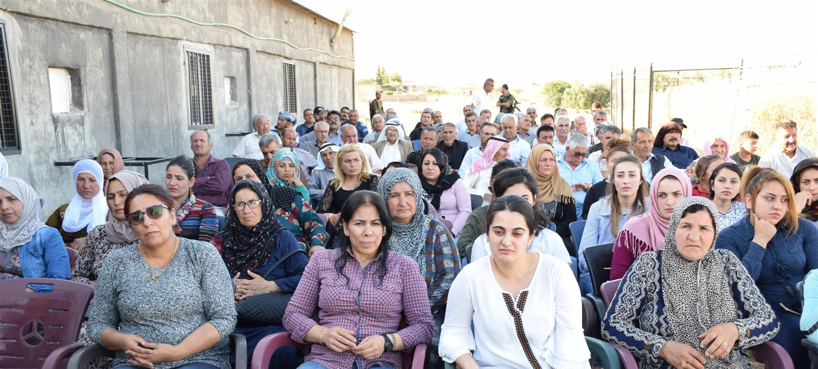 Photo of Our party holds a public meeting in Mustafawiya