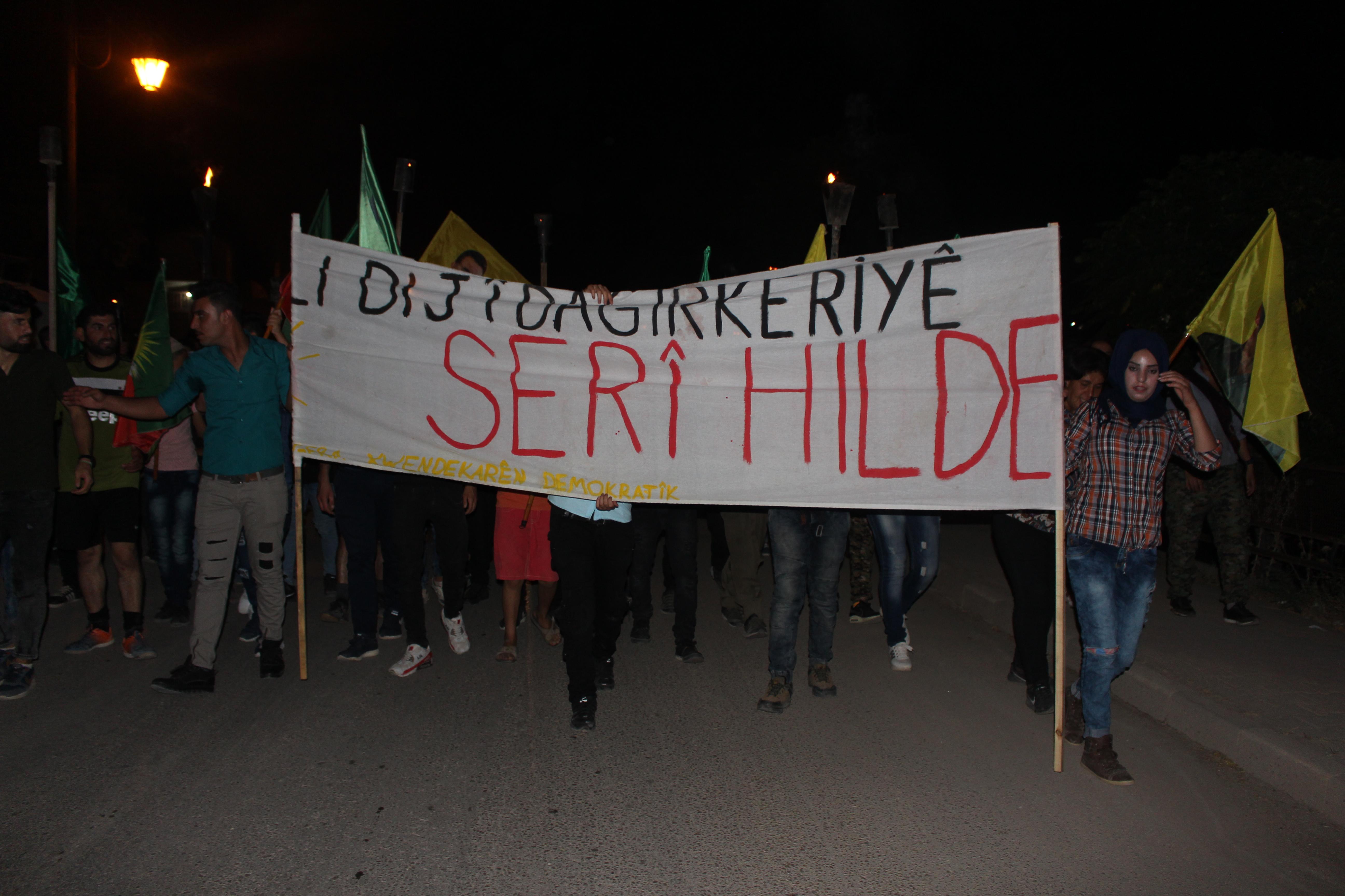 """Photo of Di çarçoveya Pêngava """"Serî Hilde"""" meşeke hate li dar xistin"""