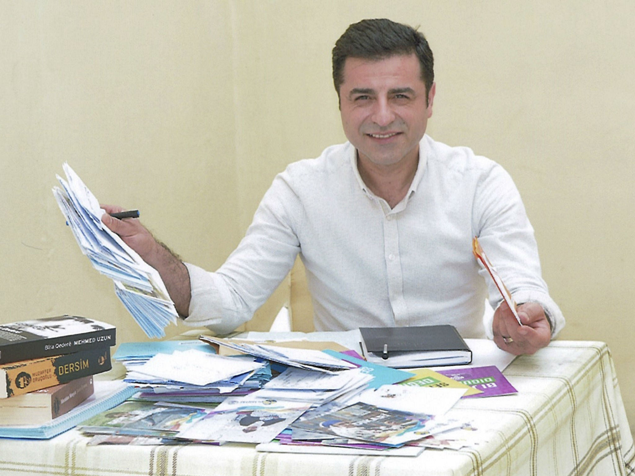 Photo of Demîrtaş: Ez Kurd im û welatê min Kurdistan e