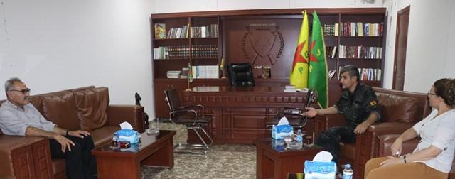 Photo of Partiya me serdana fermandariya giştî ya YPG kir
