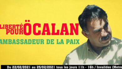 Photo of Li Parîsê ji bo azadiya Rêberê Ocalan wê çalakî were kirin