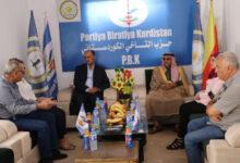 Photo of Şandeyek ji partiya me serdana buroya Partiya Biratiya Kurdistan kir