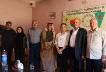 Photo of Şandeyek ji partiya me serdana buroya Partî Demokratîk Kurdistanî dike