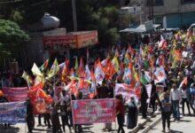 Photo of Şêniyên Kobanê êrîşên dagirkeriya Tirkiyeyê şermezar kirin