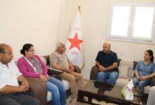 Photo of Şandek ji Partiya Demokrat a Kurdî a Sûrî serdana buroya (PYD) li Firatê kir
