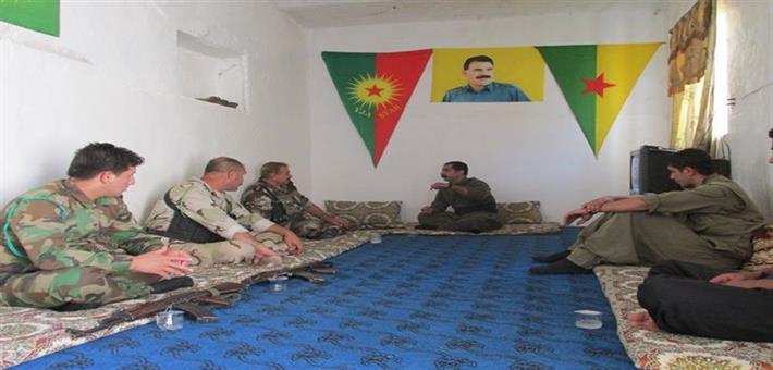 مناطق كركوك ملتقى القوات الكردستانية ومعنويات للمواطنين